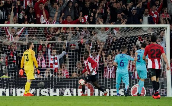 Iñaki Williams, futbolista del Athletic Club, uno de los jugadores más rápidos del FIFA 21