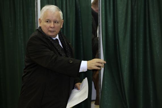 El líder político polaco Jaroslaw Kaczynski.