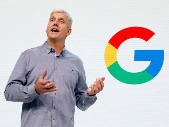 El jefe de hardware de Google, Rick Osterloh.