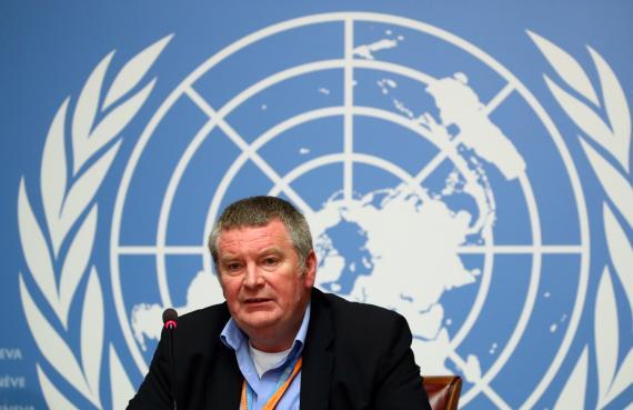 Mike Ryan, director ejecutivo de Emergencias Sanitarias de la Organización Mundial de la Salud