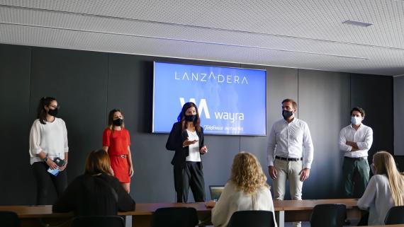 La primera sesión de trabajo conjunta entre Wayra y Lanzadera.