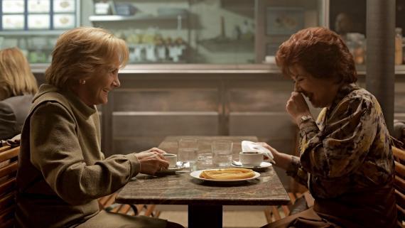 Las protagonistas de la adaptación a televisión de la novela 'Patria', de HBO.