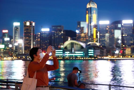 Rascacielos de Hong Kong