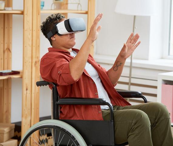 Realidad virtual para tratar trastornos