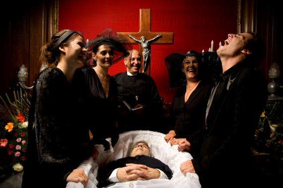 Risas funeral