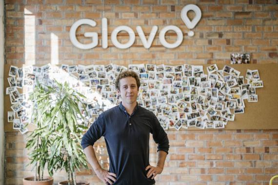 Sébastien Pellion, director de Sostenibilidad de Glovo