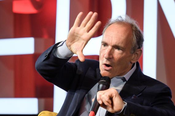 Tim Berners-Lee, creador del World Wide Web.