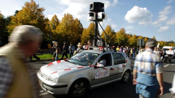 Vehículo de Google Maps en Alemania.