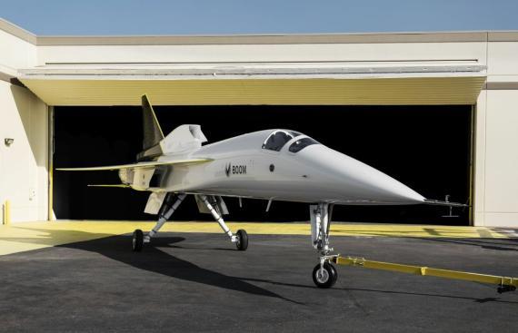 El XB-1 de Boom Supersonic.