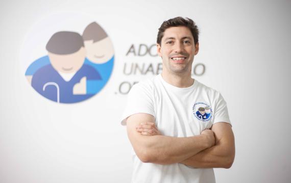 Alberto Cabanes, fundador de Adopta Un Abuelo.