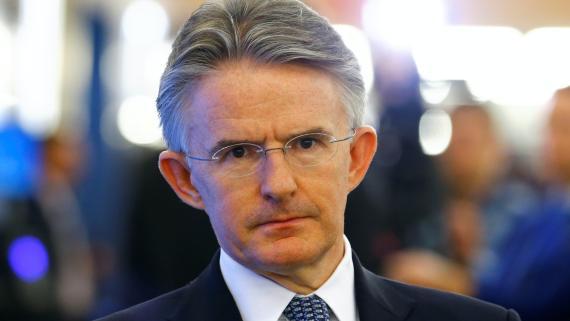 El antiguo CEO de HSBC, John Flint, en el Foro de Davos en 2009.