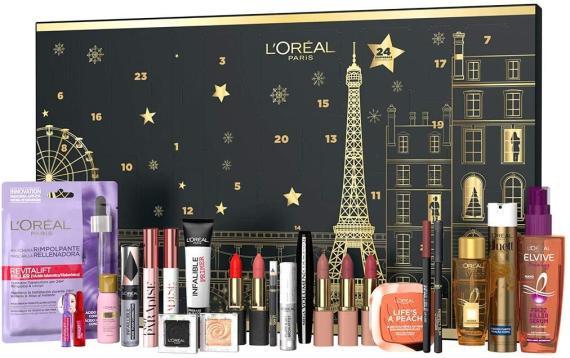 Calendario adviento de belleza L'Oreal