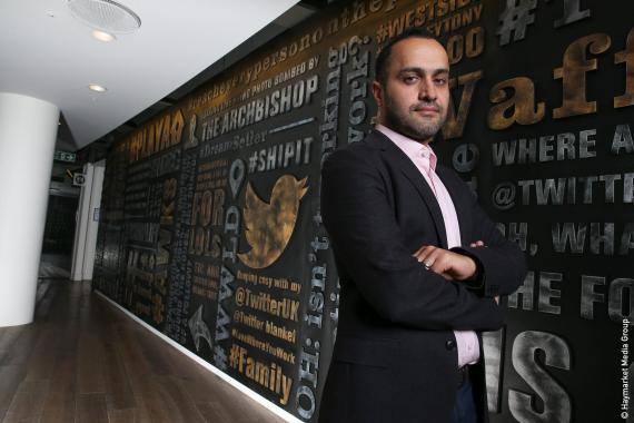 Dara Nasr, director general de Twitter en Reino Unido