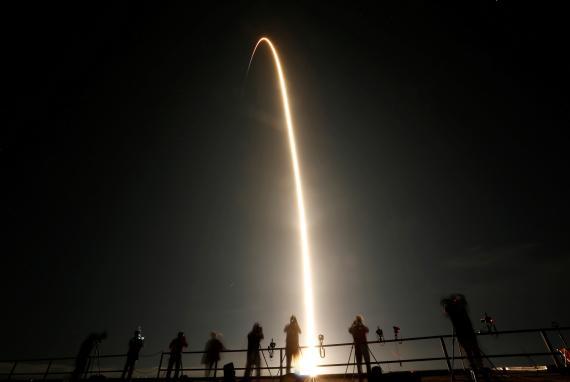 Despegue de la misión Resilience de SpaceX y la NASA
