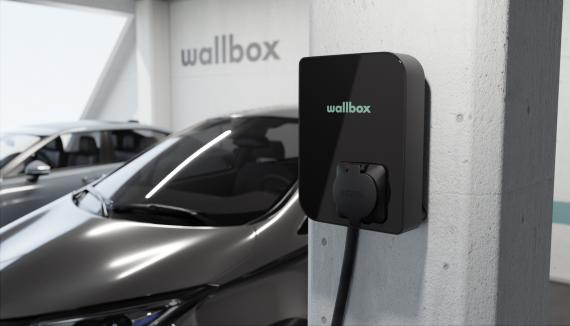 Imagen del cargador Copper SB de Wallbox