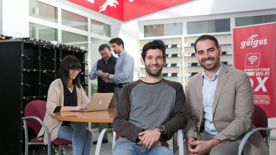 José Delgado (CTO) y José González (CEO), de Galgus.