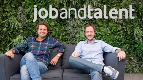 Juan Urdiales y Enrique Navio, fundadores de Jobandtalent e inversores de la startup española TaxDown.