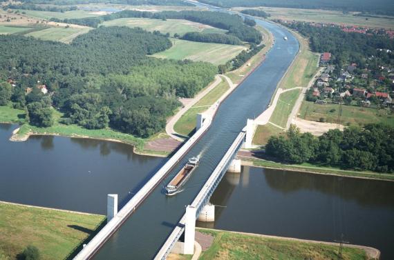 Puente canal de Magdeburgo