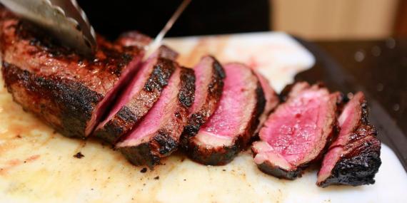 red meat beef steak