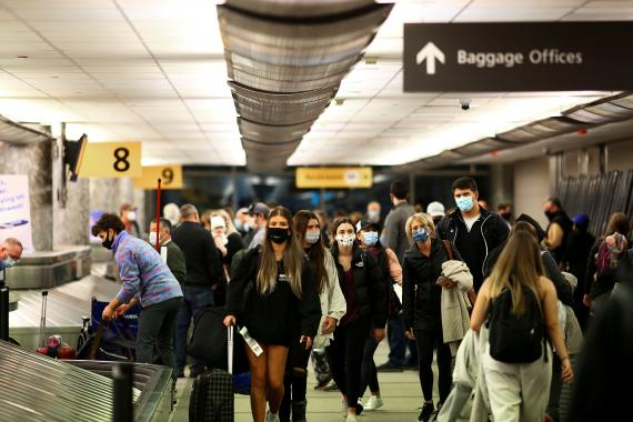Viajar durante la pandemia