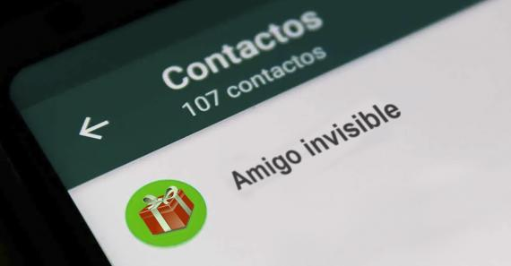 Amigo invisible en WhatsApp
