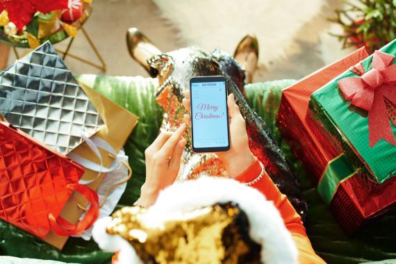 Aplicaciones para crear felicitaciones de navidad