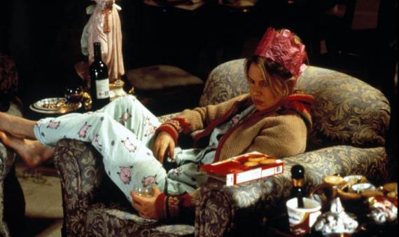 Escena de la película 'El diario de Bridget Jones'.