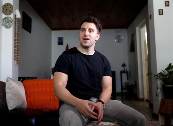 CEO y cofundador de Airbnb, Brian Chesky