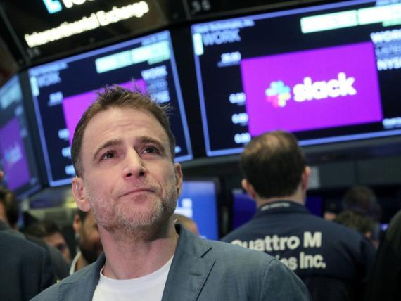 El CEO de Slack, Stewart Butterfield