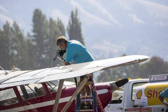 Combustible de avión