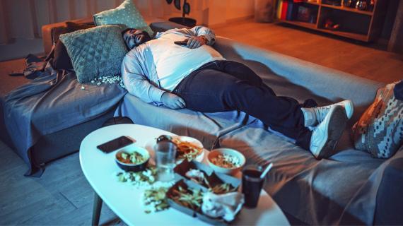 Comida y descanso