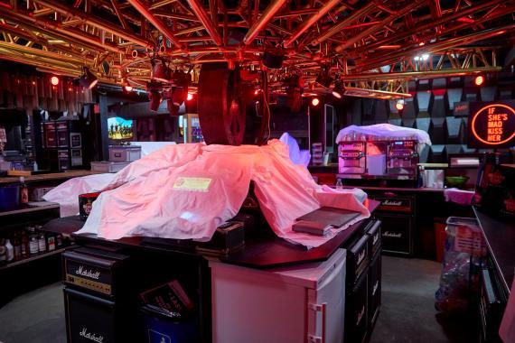 Una discoteca cerrada por la pandemia del coronavirus