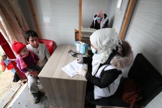 Desde Médicos Sin Fronteras alertan del gran aumento de casos de Covid en el noroeste de Siria (Médicos Sin Fronteras).