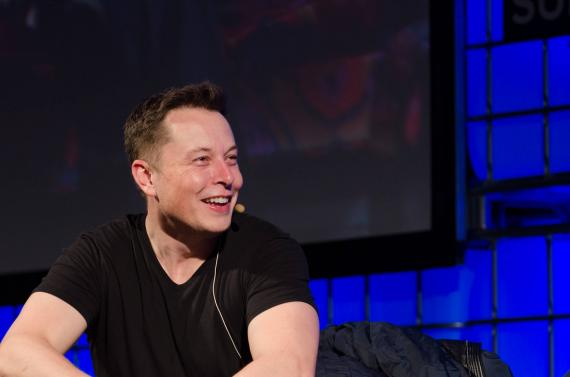 Elon Musk, jefe de Tesla