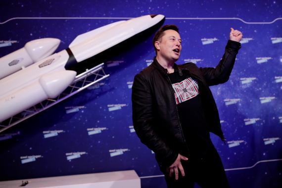 El CEO de SpaceX y Tesla, Elon Musk.