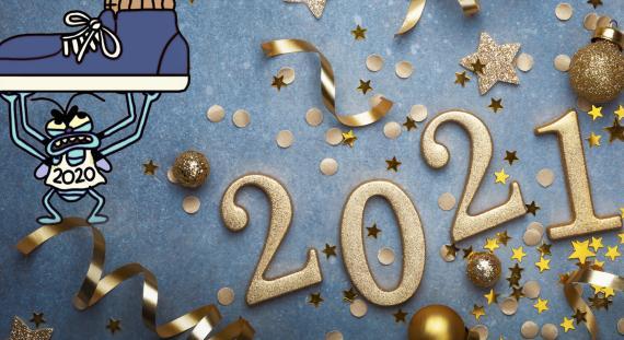 Felicitaciones originales de año nuevo 2021