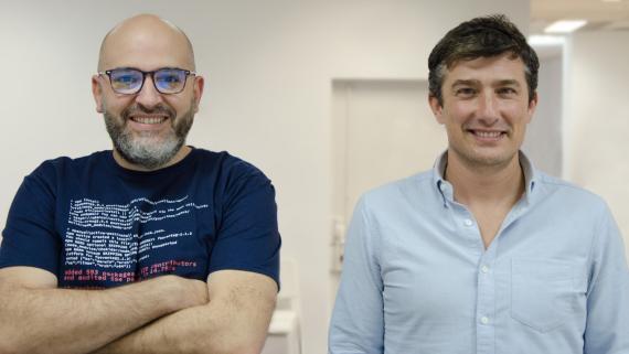 Isidro Nistal, CPO; y David Purón, CEO de Barbara IoT.