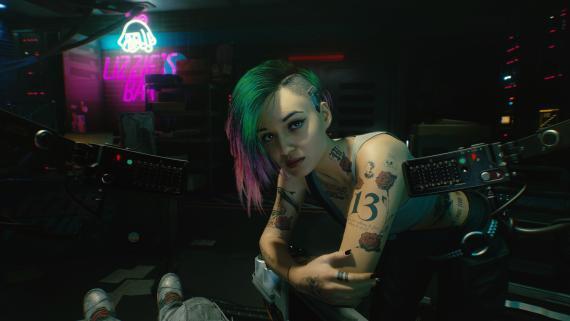 Jodie en Cyberpunk 2077