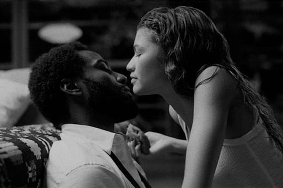 John David Washington y Zendaya en 'Malcolm & Marie'.