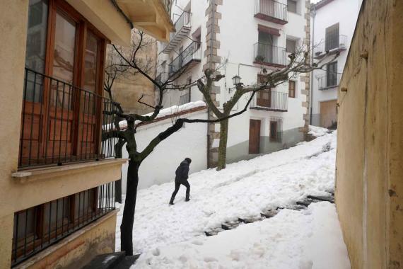 Una masa de aire polar dejará unas Navidades gélidas en España