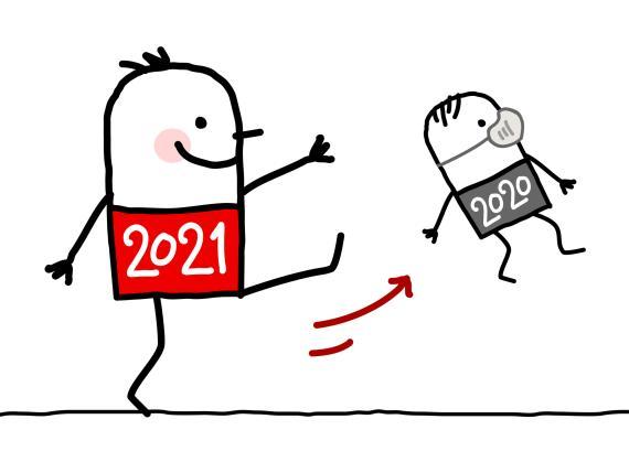 memes e imágenes divertidas para felicitar 2021