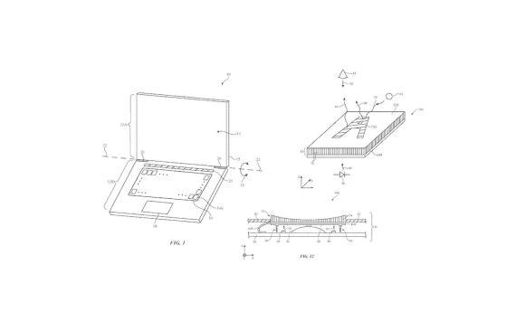 Patente de Apple para el teclado