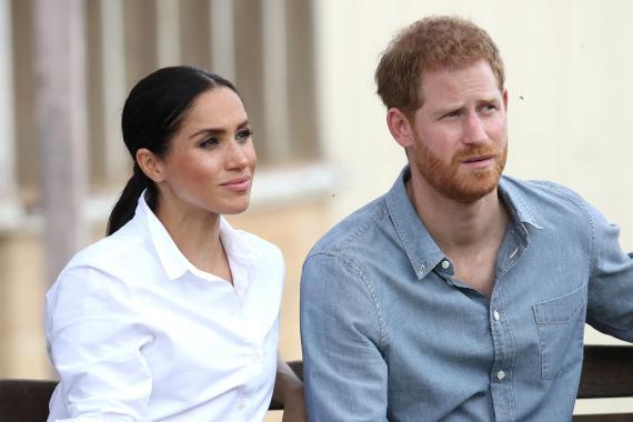 El Principe Harry y Meghan Markle