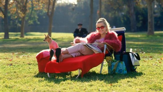 Reese Witherspoon en 'Una rubia muy legal'.