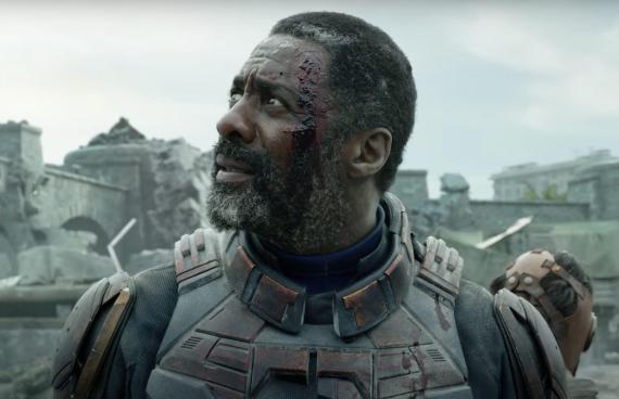 """Idris Elba in """"The Suicide Squad."""""""