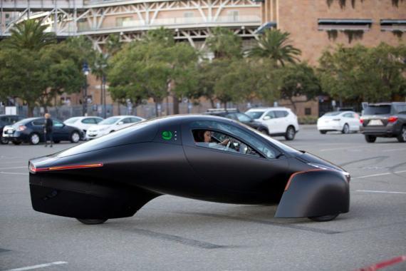 El vehículo eléctrico de Aptera