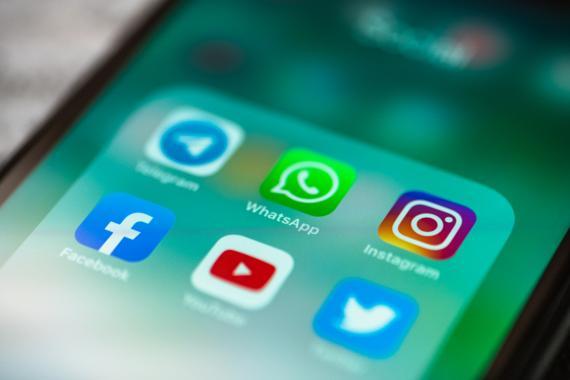 WhatsApp, Facebok, instagram y más aplicaciones