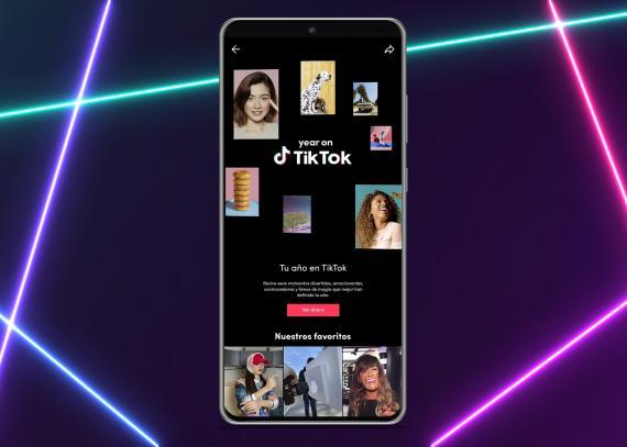 Year on TikTok, resumen del año en la red social