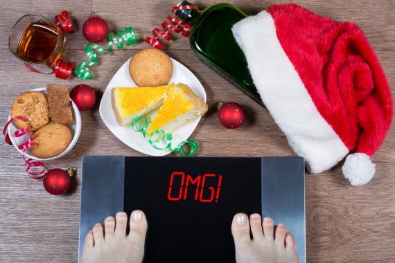 Bajar los kilos de Navidad.