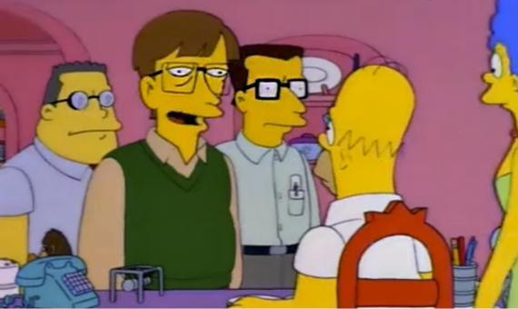 Bill Gates en Los Simpson